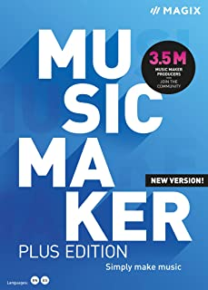 Music Maker – 2021 Plus Edition – Create a finished song in just 5 clicks [PC Download]