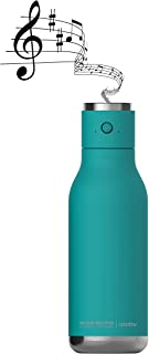 Asobu Wireless Double Wall Insulated Stainless Steel Water Bottle with a Speaker Lid 17 Ounce