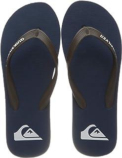 Quiksilver Men's Molokai Flip Flop, Blue Brown Blue, 7 UK