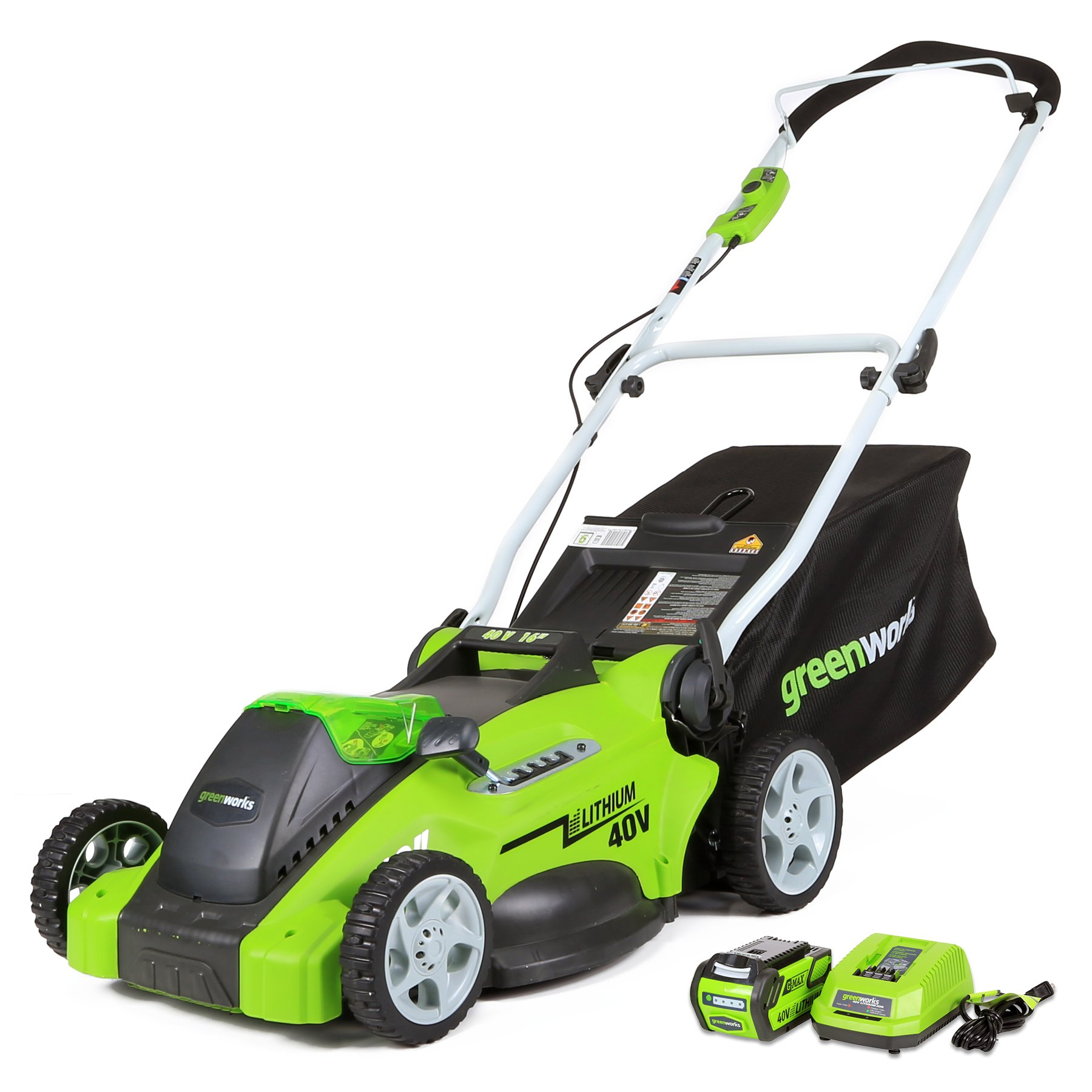 GreenWorks 25322 Mower Battery Included