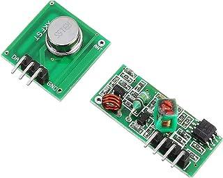 ug land india 315mhz xd-fst xd-rf-5v wireless transmitter receiver module board-Green