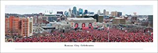 Kansas City Celebrates - Panoramic Posters and Framed Pictures by Blakeway Panoramas