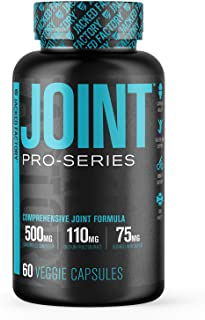 Pro-Series Joint Support Supplement - Science-Backed UC2 Collagen, C3 Turmeric Curcumin Powder & Boswellin Super Boswellia Extract - Joint Health, Knee Support and Bone Strength - 60 Veggie Pills
