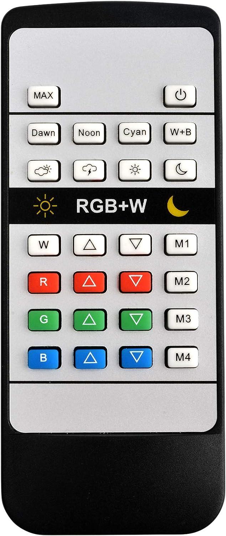 NICREW Remote Controller RGB+W Max 64% OFF LED Light Aquarium Dedication
