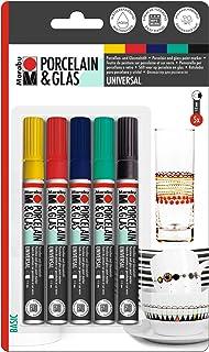 Marabu Porcelain and Glas Painter Assortment - Basic