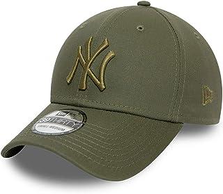 New Era 39THIRTY New York Yankees Baseball Cap - MLB League Essential - Donker Olijfgroen