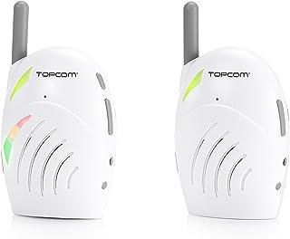 Monitor de bebé de audio Topcom KS-4216 – Calidad de sonido excelente – Alcance de hasta 300m