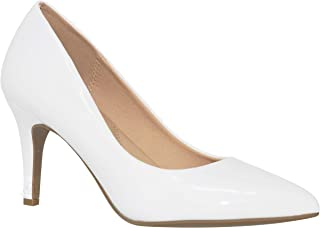 MVE Shoes Women's Party Pumps-Pointed LowKitten...