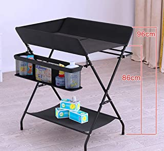 Foldable baby changing table diaper station nursery organizer  Color
