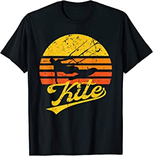 Vintage Kitesurf Gift - Kite Surfing Retro Kite Boarding  T-Shirt