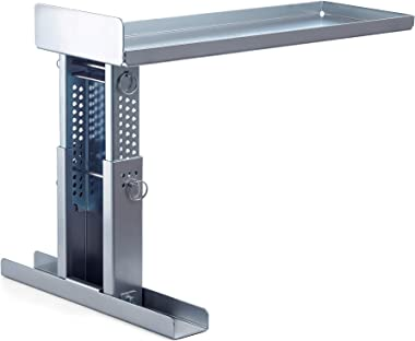 Ladder Stand for Working on Stairs Safe Ladder Stabilizer for 1AA Type Ladders