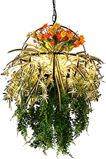 JJZXD Macrame Plant Hanger Basket Flowerpot Plant Holder Macrame Hanging Vintage Knotted Lifting Rope Garden Home Garden D...