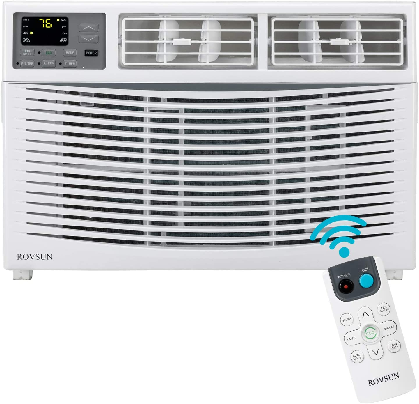 Outlet sale feature ROVSUN 8000 BTU Window Limited time sale Air Conditioner AC wi Saving Unit Energy