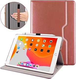 VSER Case for New iPad 7th Generation 10.2 Inch 2019,Premium PU Leather Slim Folding Stand Cover with Auto Wake/Sleep, Multiple Viewing Angles for Newest iPad 2019 7th Gen 10.2