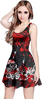 red skull dress