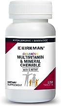 Kirkman Children's Multivitamin & Mineral Chewable with 5-MTHF
