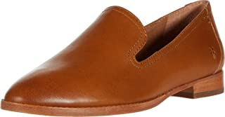 Frye Women's Grace Venetian Oxford Flat, Tobacco, 6 Medium US