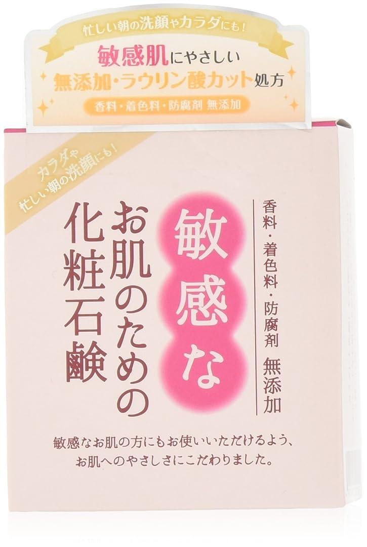 大陸怖いみすぼらしい敏感なお肌のための化粧石鹸 100g CBH-S