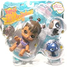 Bratz Lil' Angels Precious Lil' Bundles of Joy Numbered Collector Series 3 Pack Set with Bratz Lil Angelz YASMIN (# 105), Raccoon (# 112) and Pet (# 251)
