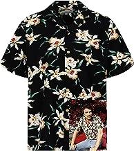 Original Hawaiian Shirt Shortsleeve Men Tom Selleck Magnum Front-Pocket Made in Hawaii Different Designs