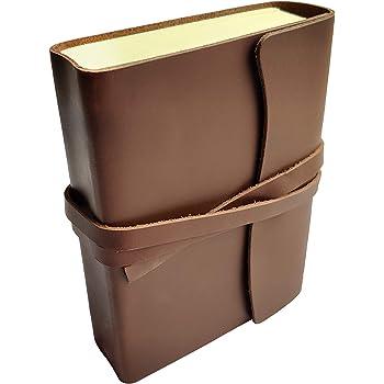 Handmade Medium Vintage Leather Journal Diary Men Women Gift for Him Her