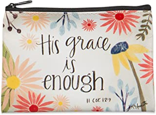 Brownlow Gifts 63762 Simple Inspirations Zippered Coin Purse, 6 x 4.25, His His Grace