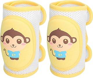 5 Paar Baby Knieschoner Krabbelschoner Krabbelhilfe Anti-Rutsch Kinderschutz Socke Baumwolle