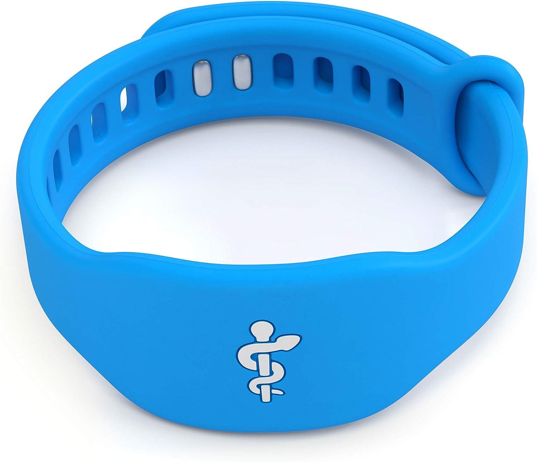 Medical Alert Bracelet for Men Women Medical ID Wristband Emergency Med Alert for Men & Women Medical Alert Jewelry
