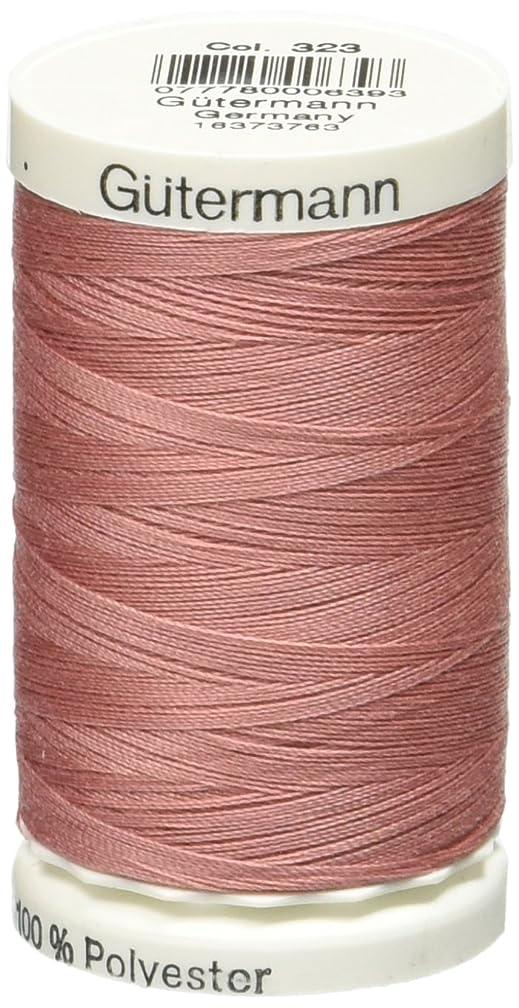 Gutermann Sew-All Thread 500 M (547 Yds)- Deep Pink #323