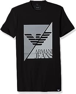 Men's Plus Size Split Eagle Logo Tshirt