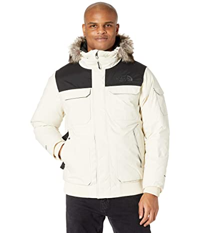 The North Face Gotham Jacket III (Vintage White/TNF Black) Men