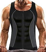 MISS MOLY Sauna Vest Mannen Neopreen Shirt 3X Zweet Tank Top Taille Trainer Workout Pak Afslanken Buik voor Gym Sport Body...