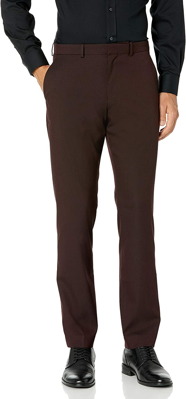 Perry Ellis Men's Slim Fit,Stretch Adjustable Tab Texture Dress Pant