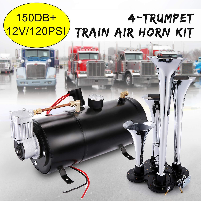 150DB Trucks Trumpet Compressor Black