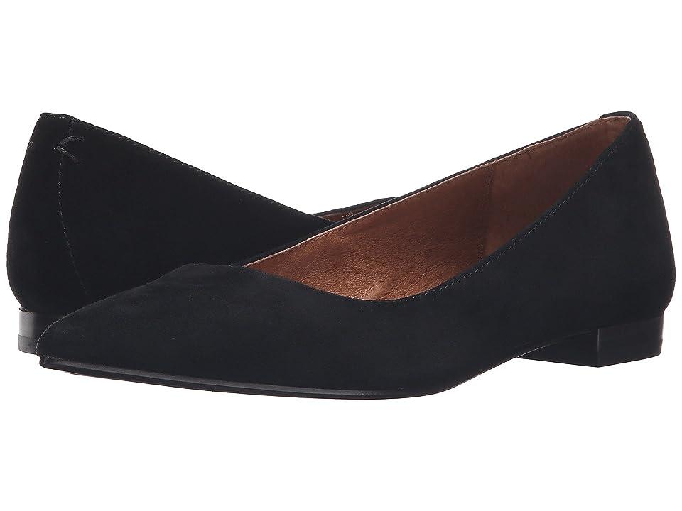 Frye Sienna Ballet (Black Suede) Women