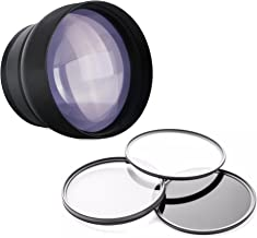 Nikon P530 2.2X High Definition Super Telephoto Lens + Lens/Filter Adapter + 3 Piece Filter Kit + Nwv Direct 5 Piece Cleaning Kit