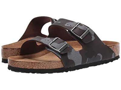 Birkenstock Arizona Soft Footbed (Desert Soil Camo Brown Birko-Flor) Men