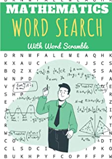 Mathematics Word Search: 60 puzzles | Challenging Puzzle Book For Adults, Kids and Seniors | More than 400 Mathematical wo...