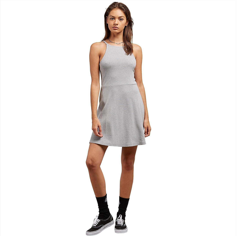 Volcom Women's Stoned High Rise Raw Hem Mini Skirt