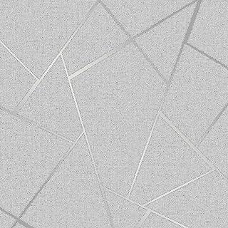 Fine Décor fd42280 Quarz Fractal, silber