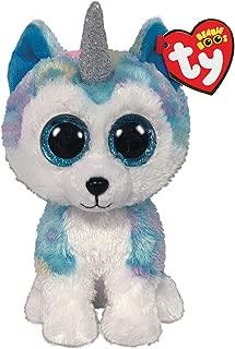 Claire's Ty Beanies Girl's Ty Beanie Boo Small Helena The Unicorn Husky Plush Toy