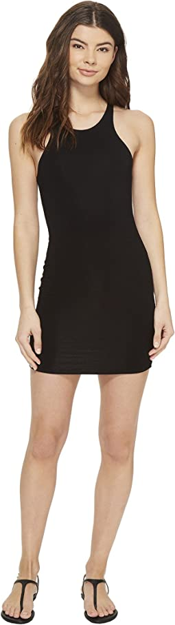 Honolua High Neck Sporty Fit Mini Dress