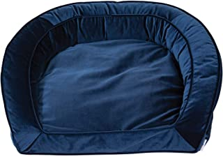 La-Z-Boy Tucker Sofa Bed Blue Velvet, Size 33X30