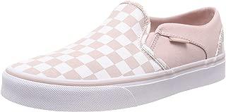 Vans 范斯 Asher Classic Checkerboard 女士低帮套脚运动鞋