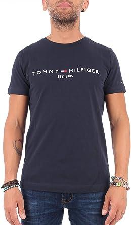 Tommy Hilfiger Logo T-Shirt Camiseta para Hombre