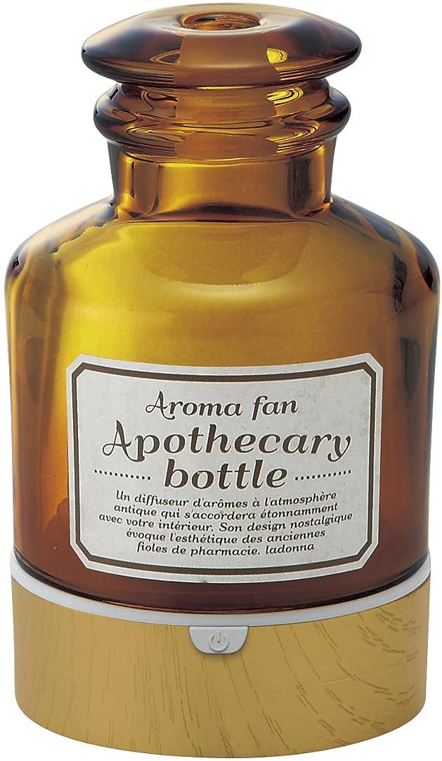 ルアー水分最高ラドンナ アロマディフューザー アポセカリーボトル ADF22-ABM 飴色