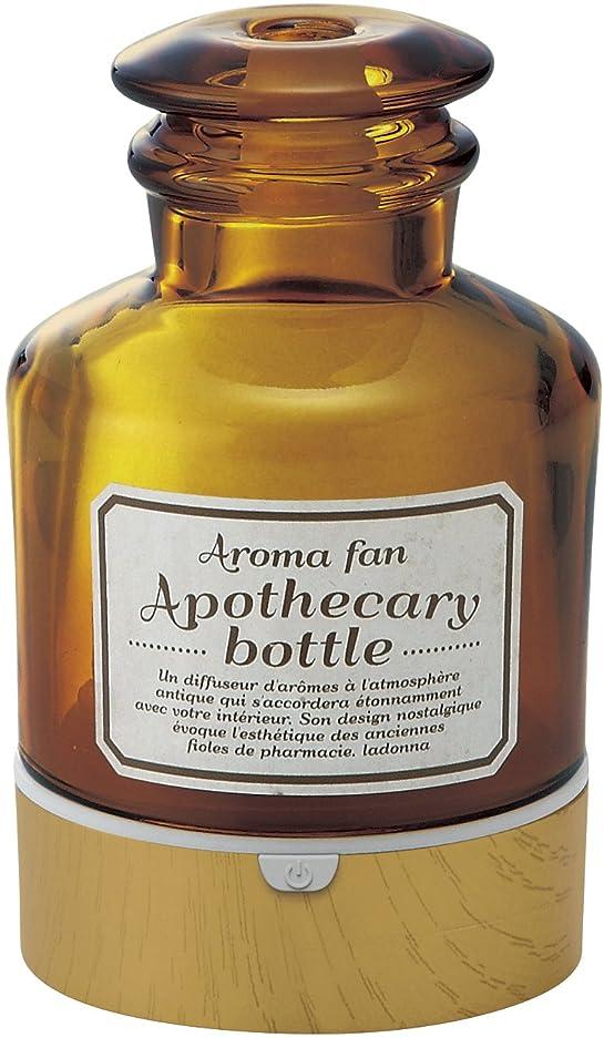風まだベアリングラドンナ アロマディフューザー アポセカリーボトル ADF22-ABM 飴色