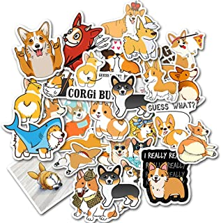 Laptop Stickers Pack DIY Dogs Stickers 50PCS Water Bottles Stickers Cute,Waterproof,Aesthetic,Trendy Stickers for Teens,Gi...
