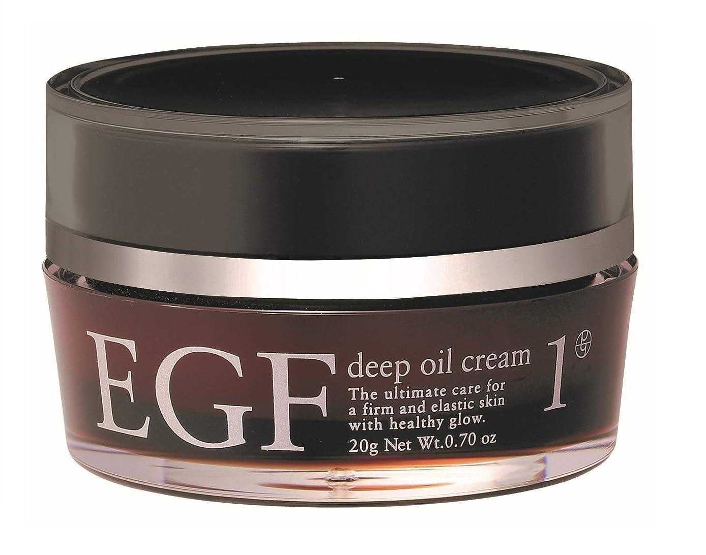 から聞く朝確認する【EGFクリーム】EGF ディープオイルクリーム 20g