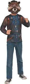 Rubie's Marvel Avengers: Endgame Child's Rocket Raccoon Costume Top & Mask, Large